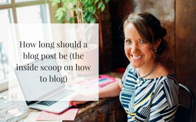 How long should a blog post be: The inside scoop on how to blog