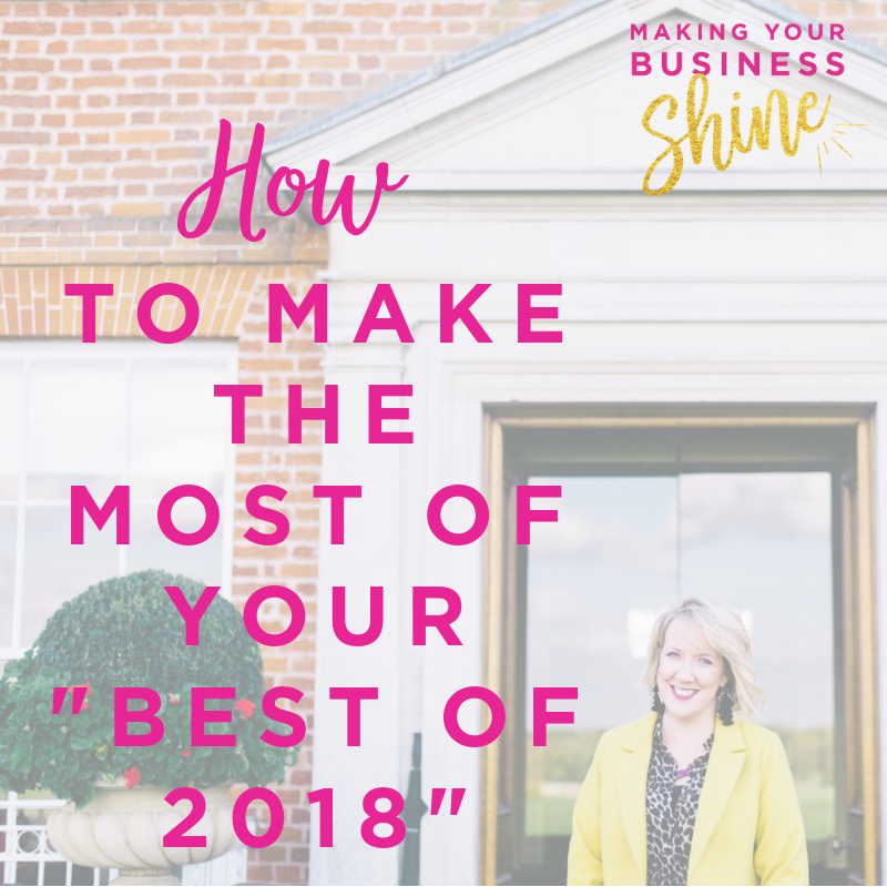 How to make the most of your Best of 2018 blog post - Maddy